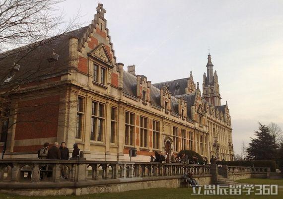 布鲁塞尔自由大学校区分布