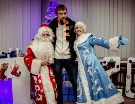 """白俄罗斯国立大学新年活动""""2017,我们在一起"""""""