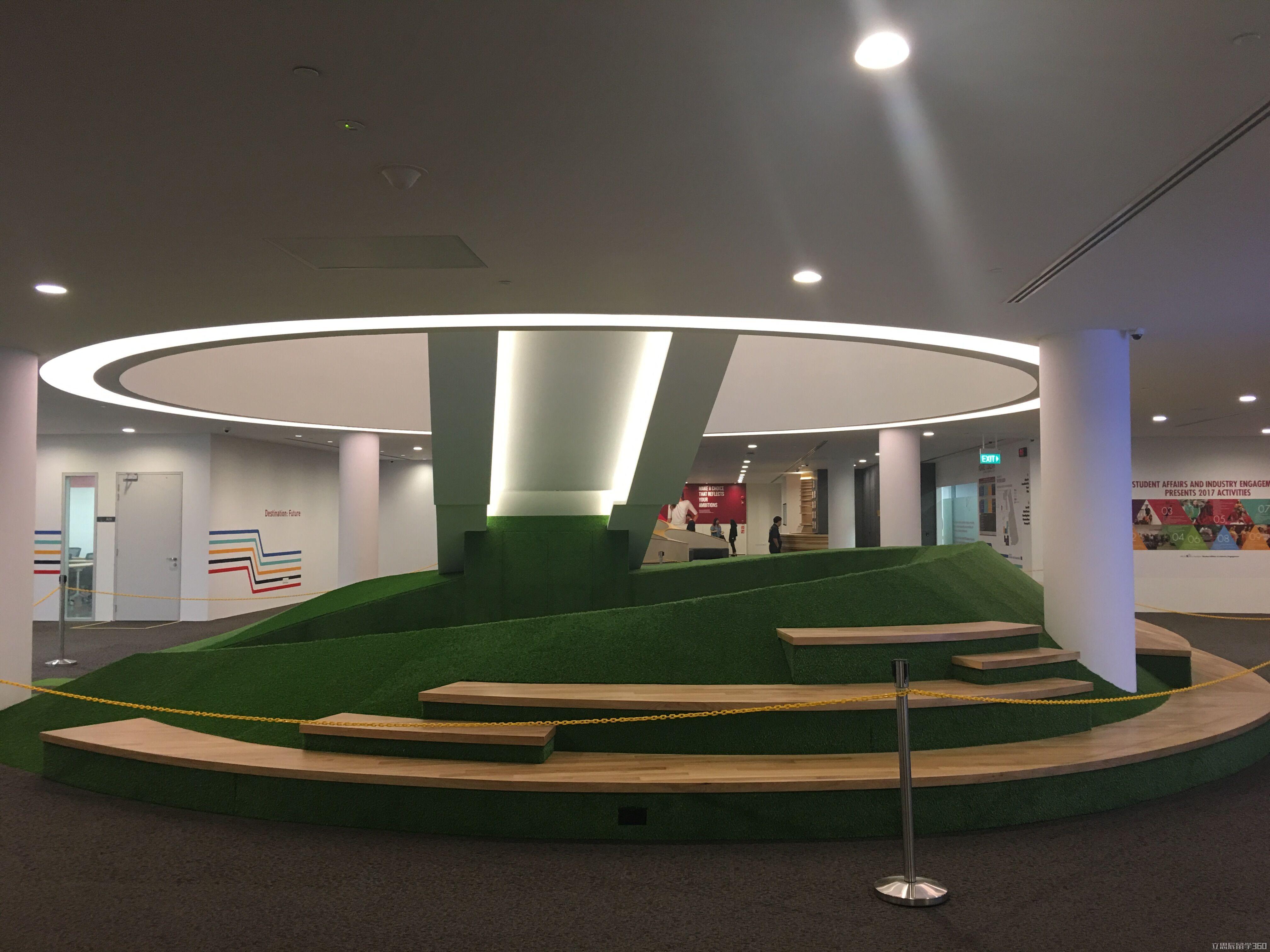 新加坡PSB学院新校区一角