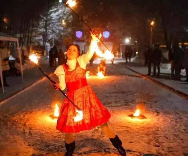 下诺夫哥罗德国立大学俄罗斯文化节