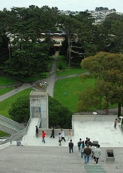 旧金山州立大学校园风光