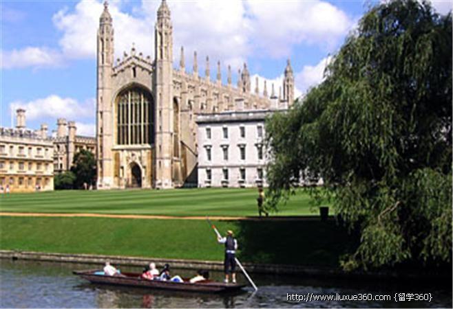 英国剑桥大学校园风光 - 英国图库 - 全球院校图