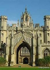 英国剑桥大学校园风光