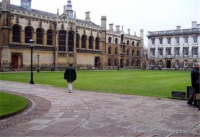 英國劍橋大學校園風光