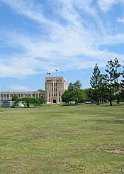 澳大利亚昆士兰大学校园风光