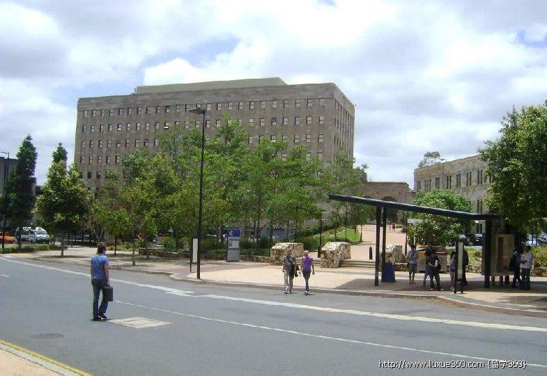 澳大利亚昆士兰大学校园风光图片