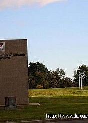 澳大利亚塔斯马尼亚大学校园风光(一)