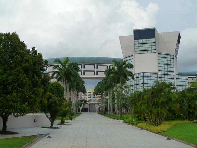 新加坡淡马锡理工学院风光一览…