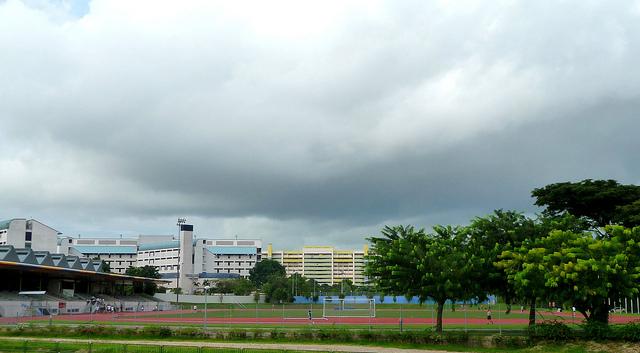 新加坡淡马锡理工学院院校风光