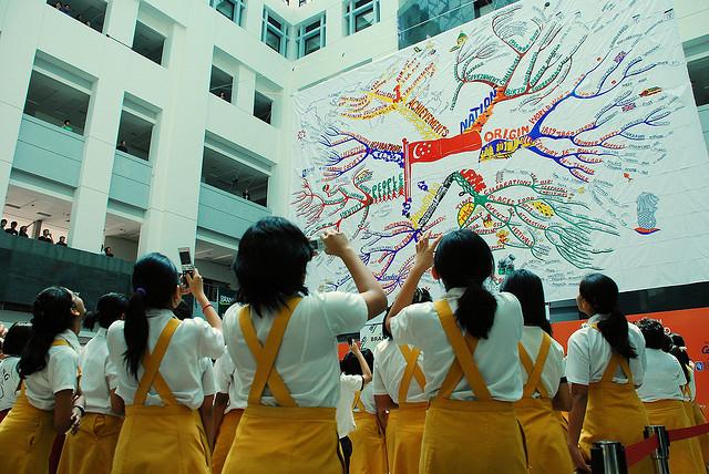新加坡管理学院校园风光(一)