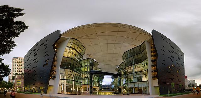 新加坡拉萨尔艺术学院校园风光(二)