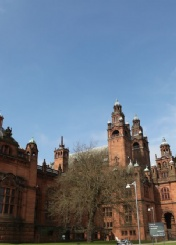 英国格拉斯哥大学风光