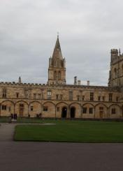 英国牛津大学校园风光