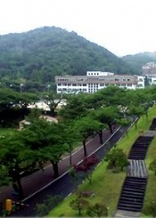 灵山大学风光组图