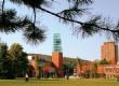 纽约州立大学宾汉姆顿分校校园风光