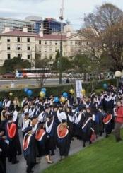 新西兰梅西大学校园风景(四)