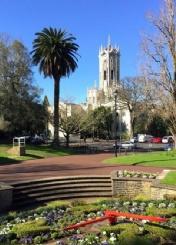 奥克兰大学与城市融为一体