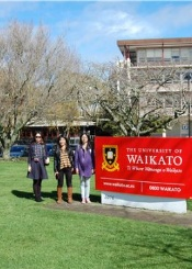 新西兰怀卡托大学院校风光