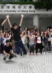 香港城市大学院校风光(二)
