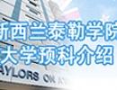 香港杀三肖留学:泰勒学院预科申请解析专题