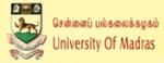 马德拉斯大学|University of Madras
