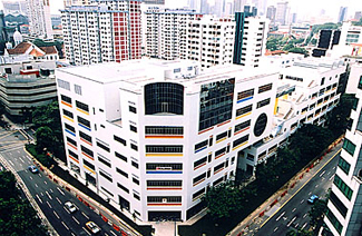 新加坡南洋艺术学院风光