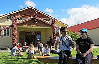 新西兰戏剧学院风光