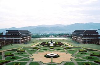 泰国皇太后大学风光