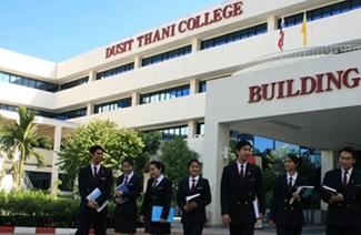 泰国都斯他尼酒店管理学院风光