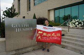 李同学有远见地选择留学方式,最终获得汉博学院offer