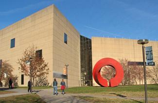 宾州印第安纳大学风光
